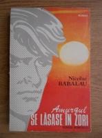 Nicolae Babalau - Amurgul se lasase in zori