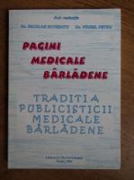 Anticariat: Nicolae Botezatu - Pagini medicale Barladene