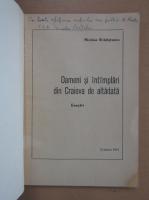 Nicolae Bradisteanu - Oameni si intamplari din Craiova de altadata (cu autograful autorului)