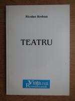 Nicolae Breban - Teatru. Batrana doamna si fluturele