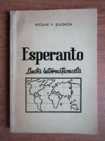 Anticariat: Nicolae Bulencea - Limba esperanto, Studiu analitic