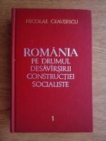 Anticariat: Nicolae Ceausescu - Romania pe drumul desavarsirii constructiei socialiste (volumul 1)