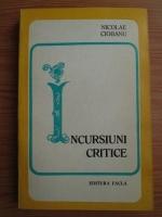 Anticariat: Nicolae Ciobanu - Incursiuni critice