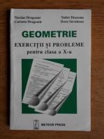 Nicolae Dragomir - Geometrie. Exercitii si probleme pentru clasa a X-a