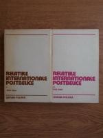 Anticariat: Nicolae Ecobescu - Relatiile internationale postbelice. Cronologie diplomatica 1945-1964 (2 volume)