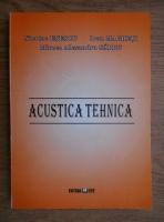 Anticariat: Nicolae Enescu - Acustica tehnica