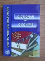 Nicolae Felecan - Dictionar de omonime