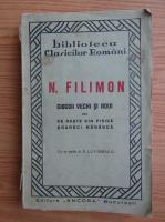 Nicolae Filimon - Ciocoii vechi si noui sau ce naste sin pisica soareci mananca (1930)