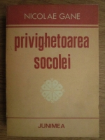 Nicolae Gane - Privighetoarea socolei