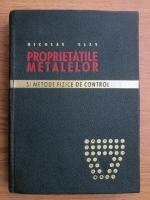 Nicolae Geru - Proprietatile metalelor si metode fizice de control
