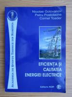Nicolae Golovanov - Eficienta si calitatea energiei electrice