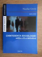 Anticariat: Nicolae Grosu - Chintesenta sociologiei