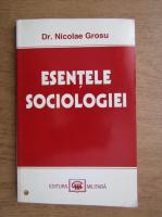 Anticariat: Nicolae Grosu - Esentele sociologiei