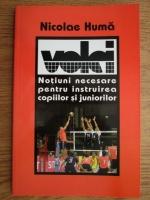 Anticariat: Nicolae Huma - Volei. Notiuni necesare pentru instruirea copiilor si juniorilor