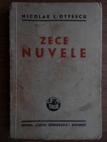 Anticariat: Nicolae I. Ottescu - Zece nuvele (1940)