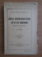 Anticariat: Nicolae Iorga - Carti despre representative in viata omenirii (volumul 1, 1924)