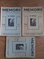 Nicolae Iorga - Memorii (volumele 3, 4 si 5)