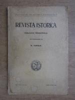 Nicolae Iorga - Revista istorica, volumul XXIV, aprilie-iunie 1938