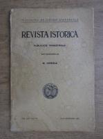 Nicolae Iorga - Revista istorica, volumul XXV, iulie-septembrie 1939