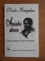 Anticariat: Nicolae Kretzulescu - Amintiri istorice