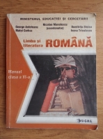 Anticariat: Nicolae Manolescu - Limba si litertura romana. Manual clasa a XI-a