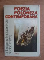 Anticariat: Nicolae Mares - Poezia poloneza contemporana