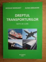 Nicolae Margarit - Dreptul transporturilor