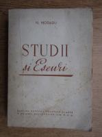 Anticariat: Nicolae Moraru - Studii si eseuri (1950)