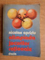 Nicolae Oprisiu - Olimpiada Jocurilor Nationale