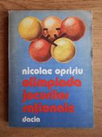 Nicolae Oprisiu - Olimpiada jocurilor rationale