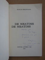 Anticariat: Nicolae Prelipceanu - De neatins de neatins (cu autograful autorului)