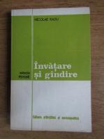 Nicolae Radu - Invatare si gandire