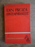 Anticariat: Nicolae Sorin - Din proza Contemporanului