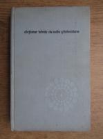 Anticariat: Nicolae Stanciu - Dictionar tehnic de radio si televiziune