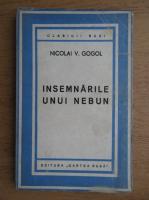 Anticariat: Nicolai Gogol - Insemnarile unui nebun (1945)