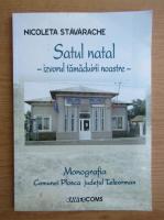 Anticariat: Nicoleta Stavarache - Satul natal. Izvorul tamaduirii noastre