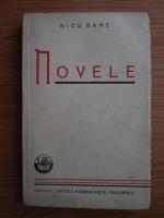 Anticariat: Nicu Gane - Novele (1938)