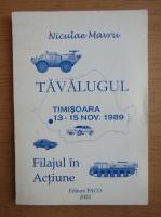 Niculae Mavru - Tavalugul. Filajul in actiune