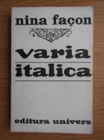 Nina Facon - Varia Italica