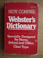 Anticariat: Noah Webster - New concise. Webster's dictionary. Specially designed for home, school an office