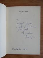 Nora Iuga - Cantece (cu autograful si dedicatia autoarei pentru Balogh Jozsef)
