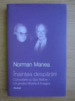 Anticariat: Norman Manea - Inaintea despartirii