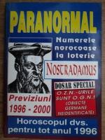 Anticariat: Nostradamus. Previziuni 1996-2000