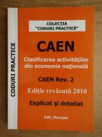 Anticariat: Noul CAEN 2010