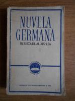 Anticariat: Nuvela germana in secolul al XIX-lea
