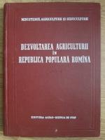 O. Fenesan, D. Frasie, I. Luca - Dezvoltarea agriculturii in Republica Populara Romana