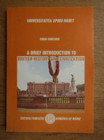 Anticariat: Oana Godeanu - A brief introduction to british history and civilization