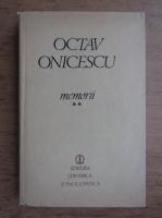 Octav Onicescu - Memorii (volumul 2)