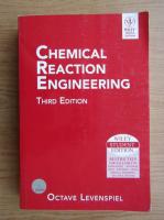 Anticariat: Octave Levenspiel - Chemical reaction engeneering