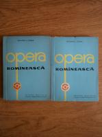 Anticariat: Octavian I. Cosma - Opera romaneasca (2 volume)